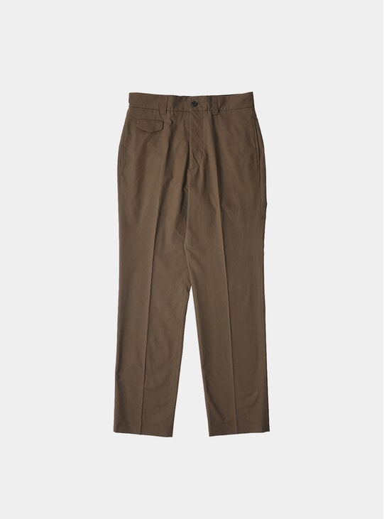 Dark Olive Ticket Pocket Trousers