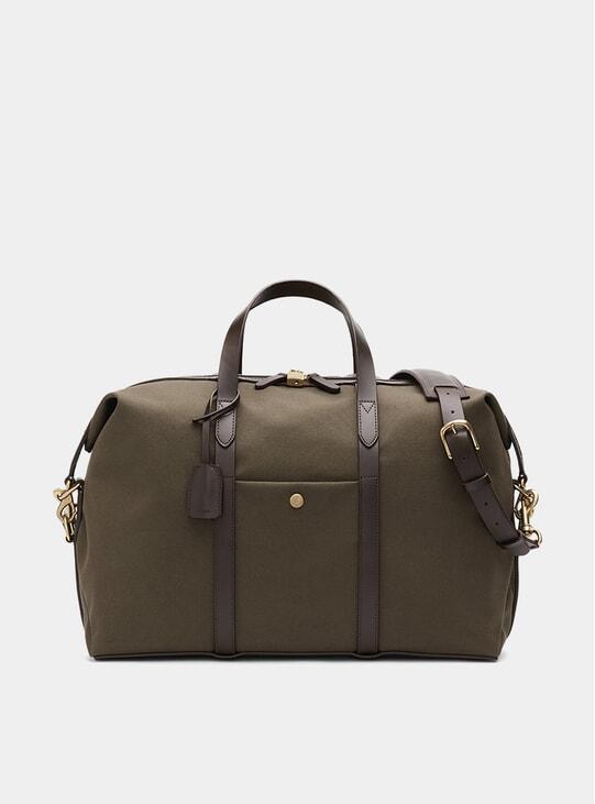 Army / Dark Brown M/S Avail Weekend Bag
