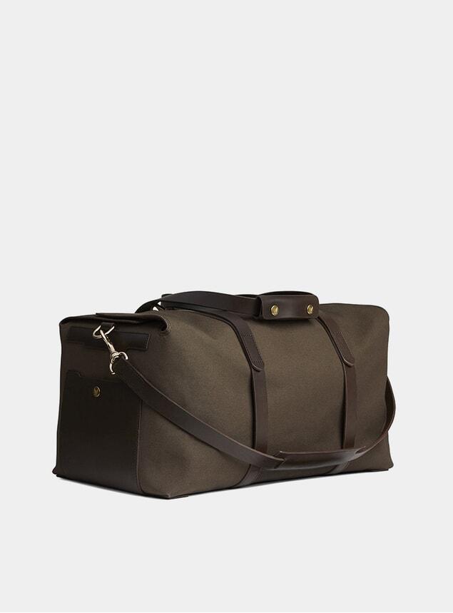 Army / Dark Brown M/S Supply Bag