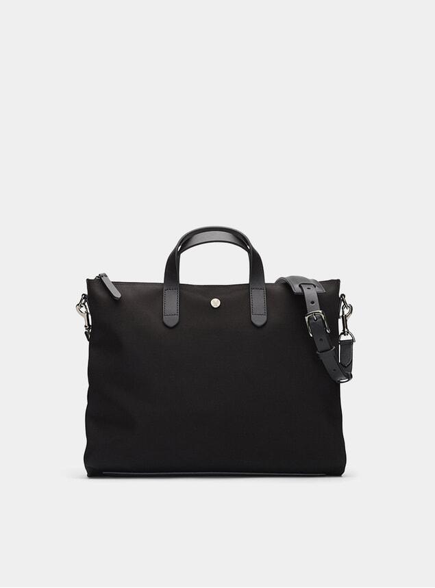 Black / Black M/S Brief Bag