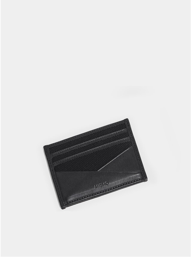 Black / Black M/S Card Holder