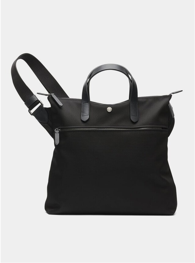 Black / Black M/S Goods Shopper Tote