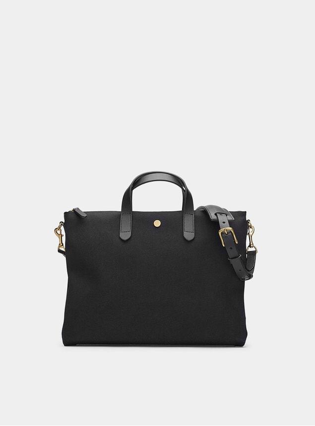 Coal / Black M/S Brief Bag