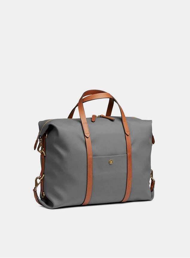Concrete / Cuoio M/S Utility Bag
