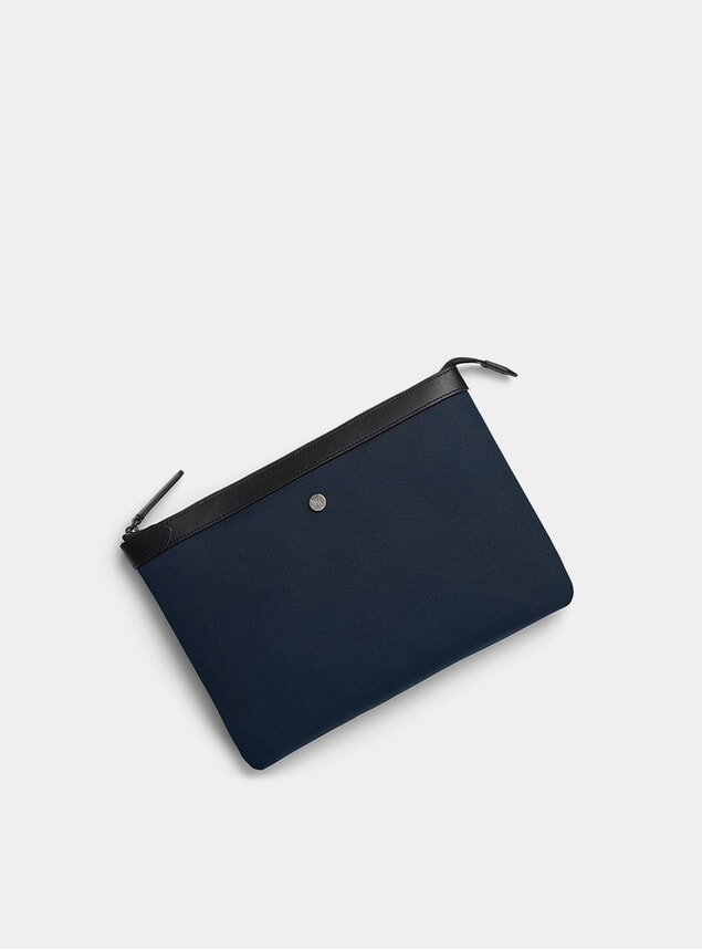 Deep Blue / Black M/S Washbag