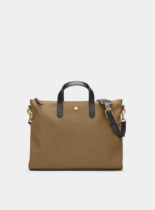 Khaki / Black M/S Brief Bag