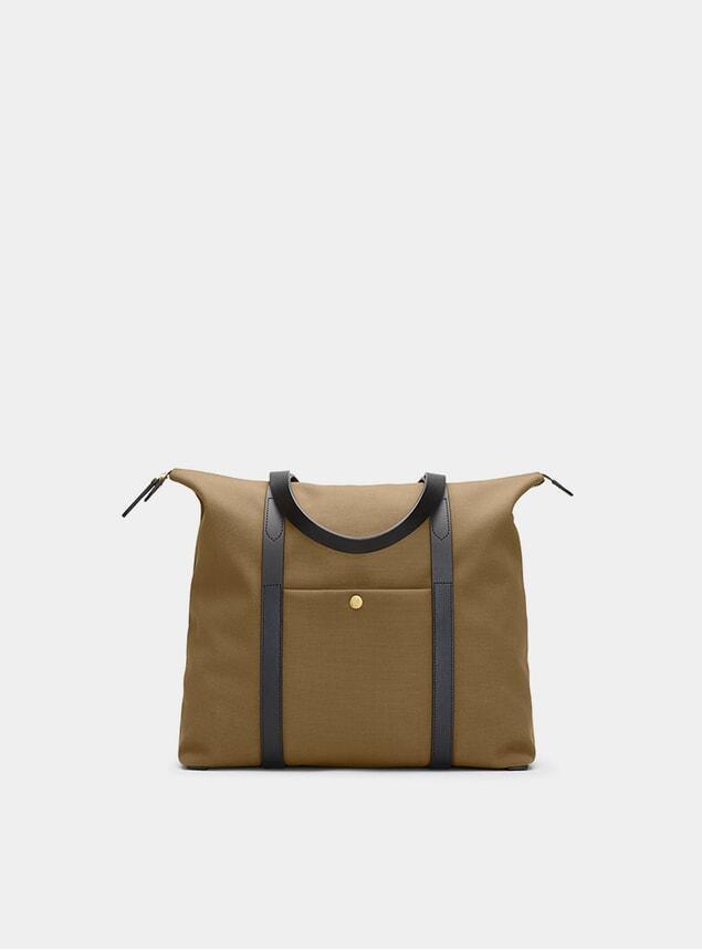 Khaki M/S Shuttle Bag