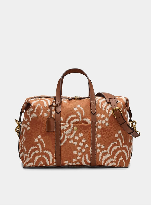 Palm Jacquard / Cuoio M/S Avail