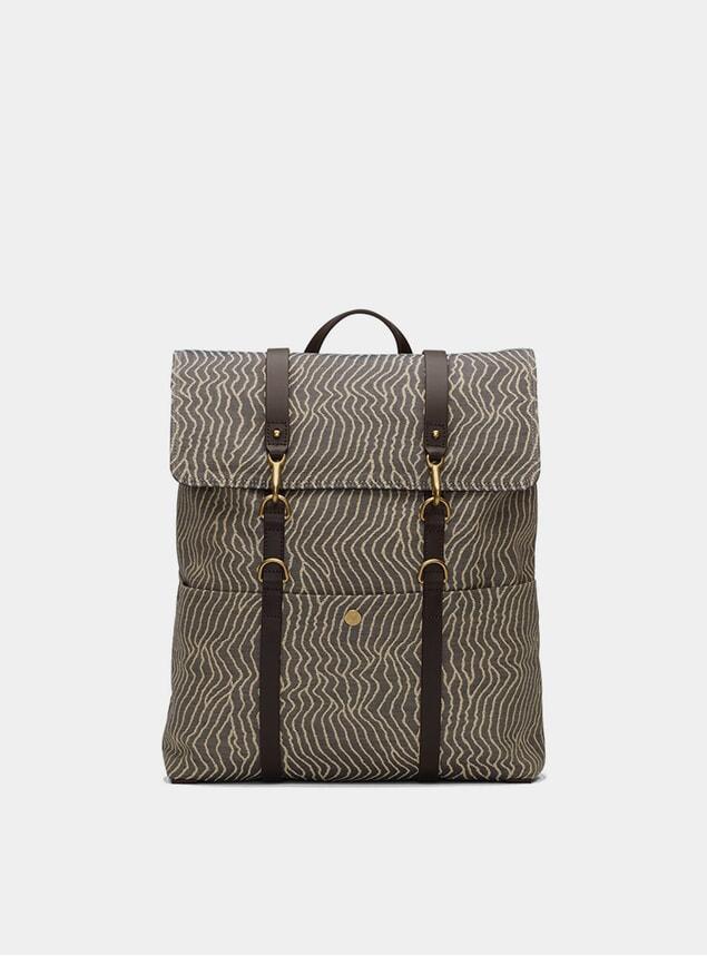 Sand Waves / Dark Brown M/S Backpack