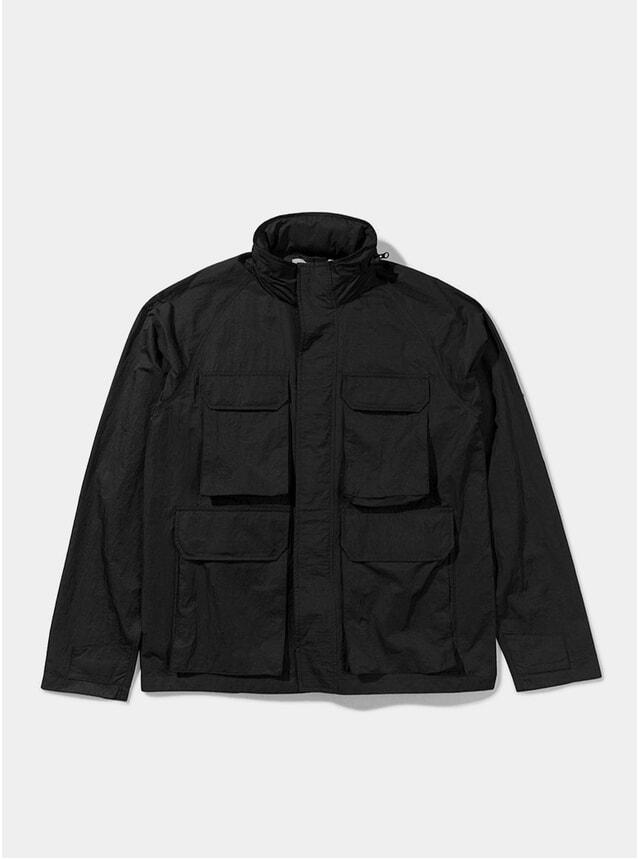 Grey Commander Shell Jacket
