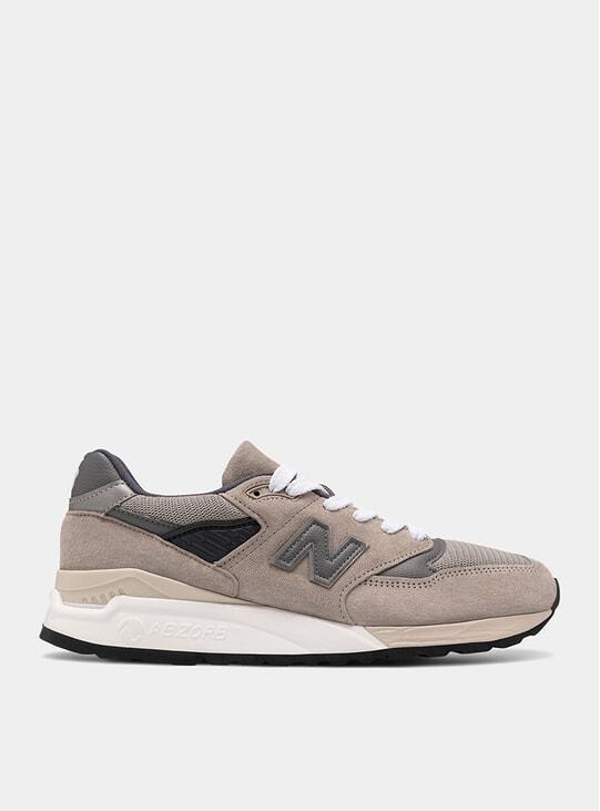 Grey / Light Grey 988 Sneakers