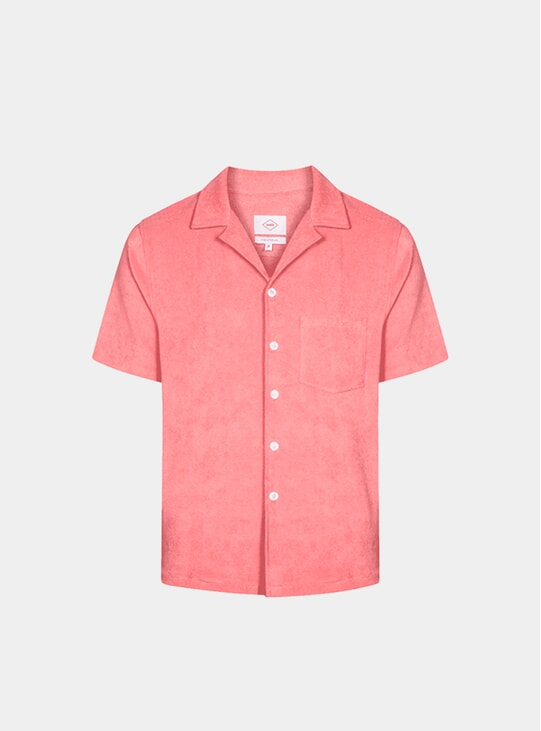 Coral Bowling Terry Shirt