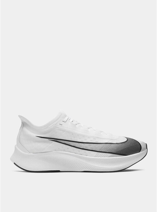 White Zoom Fly 3 Sneakers