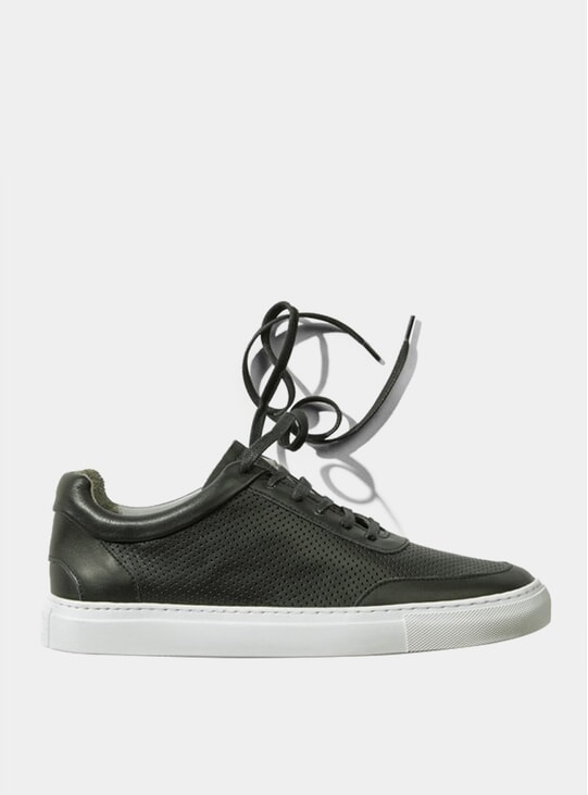 Black Breathable No-2 Sneakers