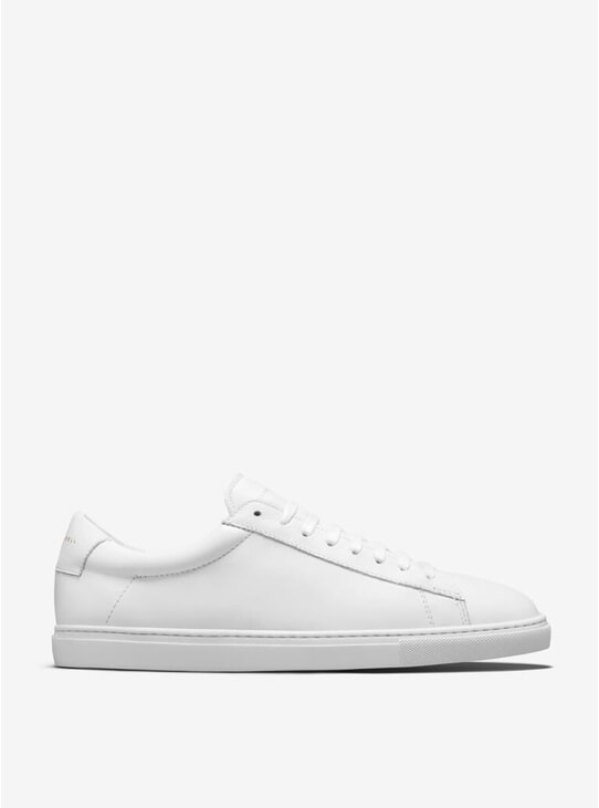 White Low 1 Sneakers
