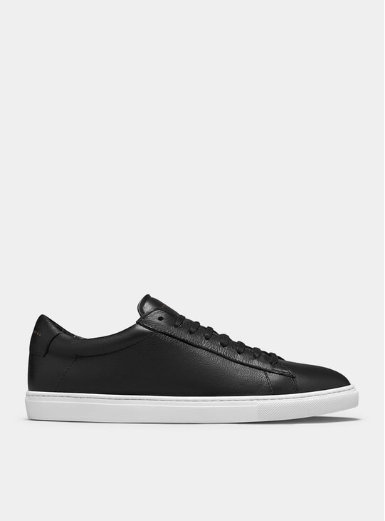 Black / White Low 1 Sneakers