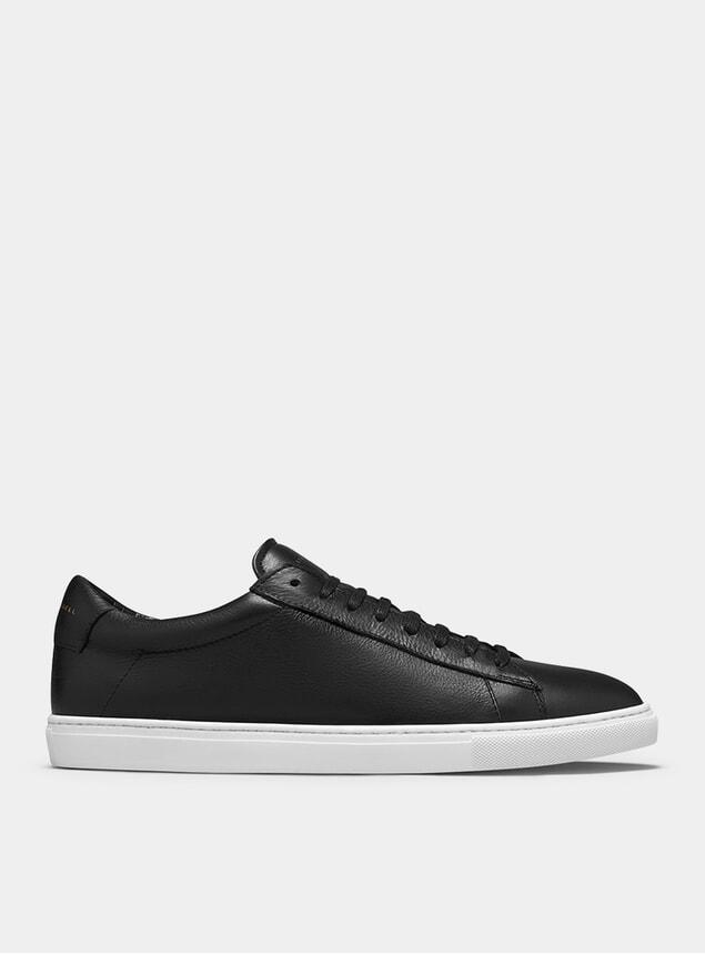 Black / White Low 1 Sneakers