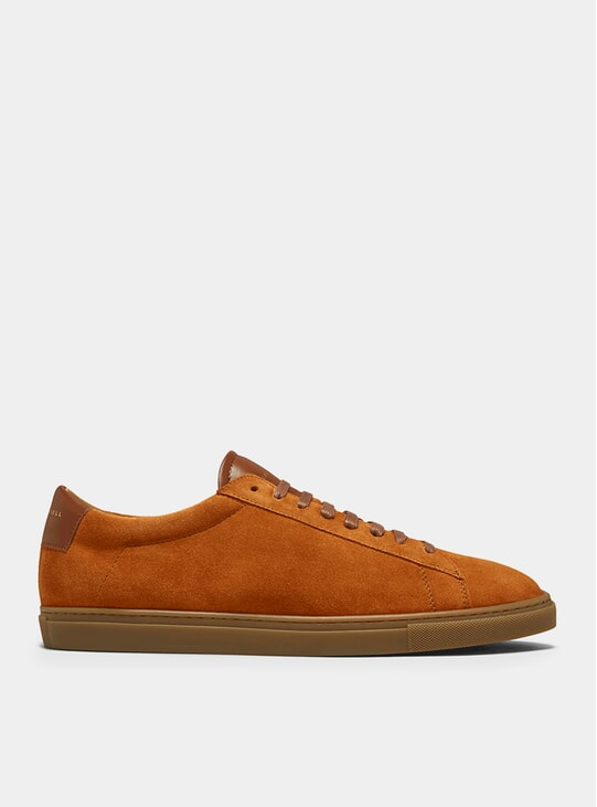Camel Low 1 Suede Sneakers