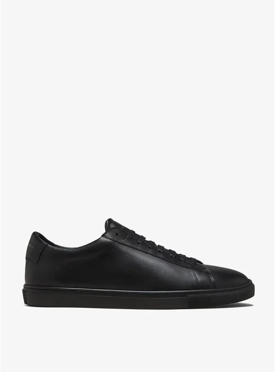Jet Black Low 1 Sneakers