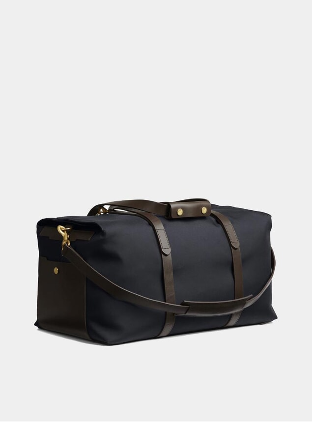 Navy / Dark Brown M/S Supply Bag