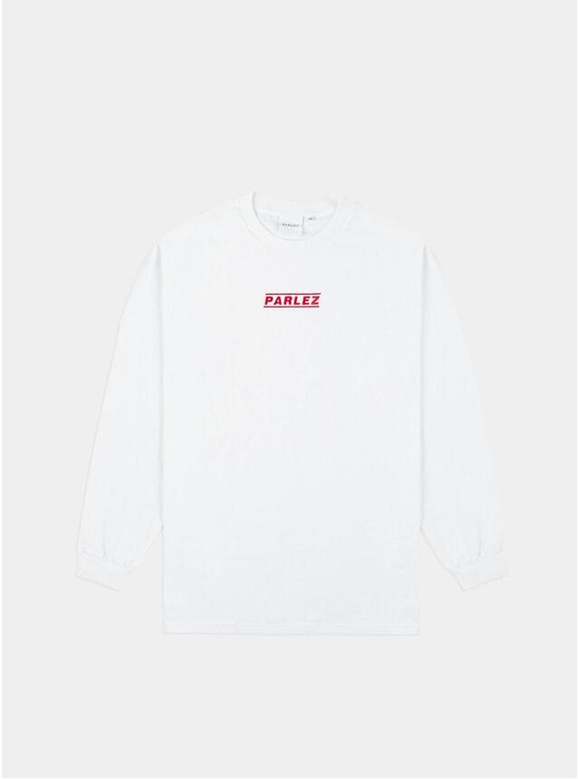 White Sven L/S T Shirt
