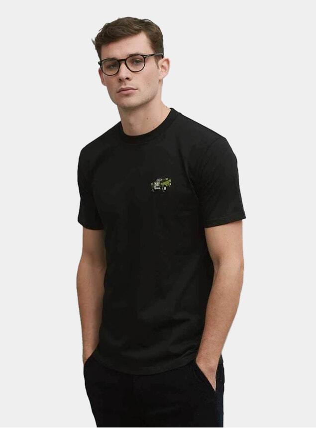 Black 4x4 T Shirt