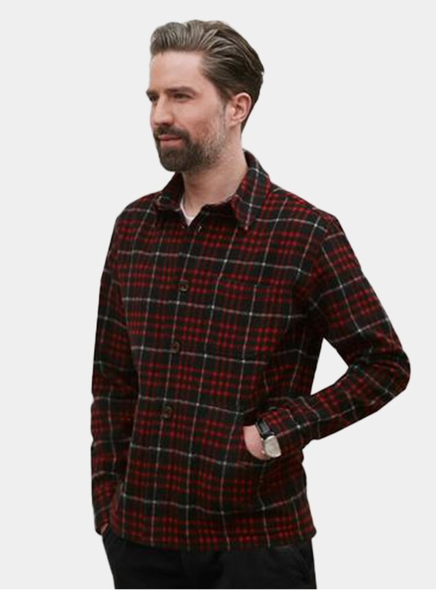 Redwood Flannel Pocket Overshirt