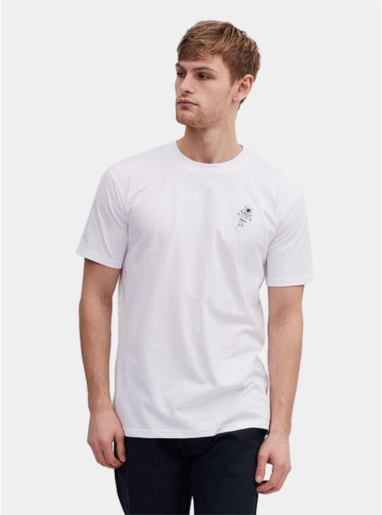 White Spaceman T Shirt