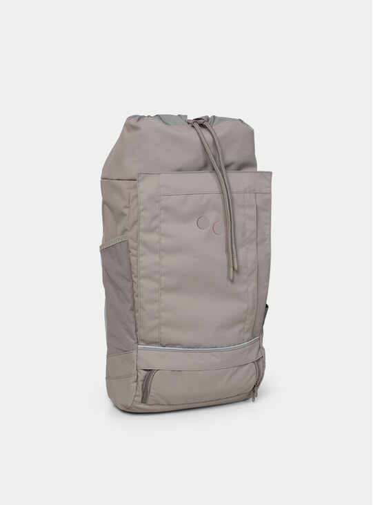 Cement Taupe Large Blok Backpack