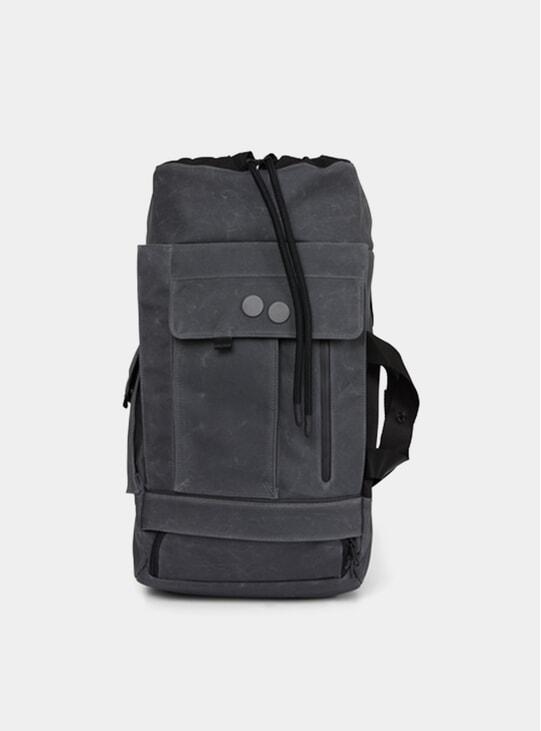 Coated Anthracite Blod Medium Backpack