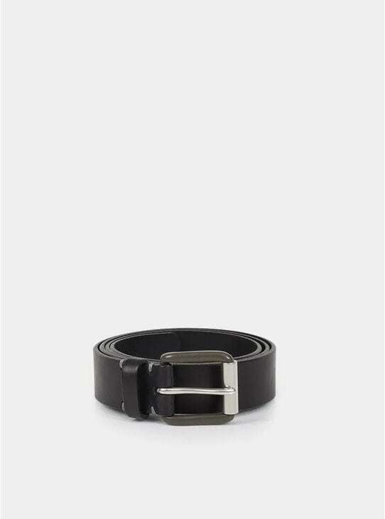 Pitch Black / Pewter Modernist Exposed Belt