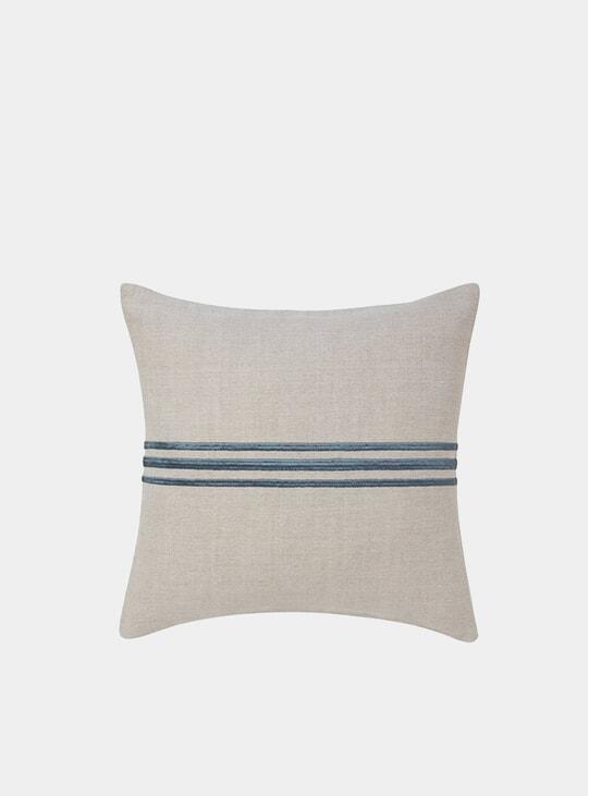 Soft Blue Linden Cushion