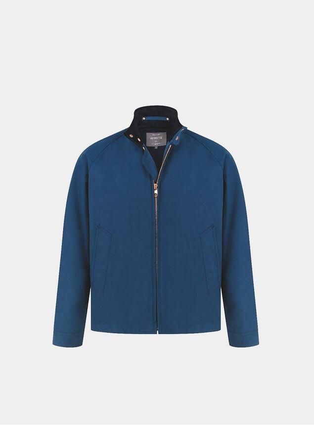 Blue Ventile Harrington 3.0 Jacket
