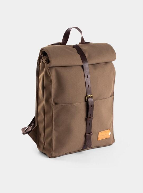 Olive Brown / Dark Brown Alex 24H Backpack