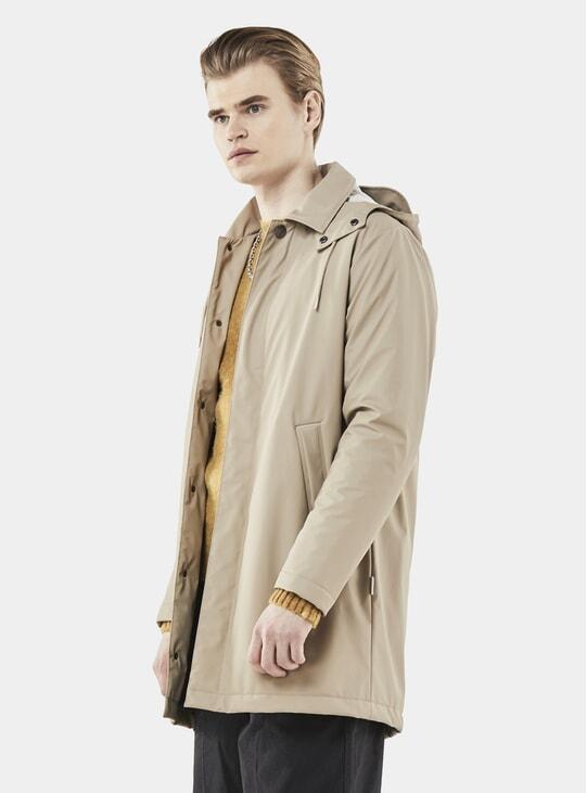 Beige Mac Coat