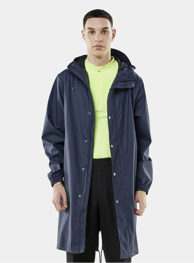 Blue Fishtail Parka