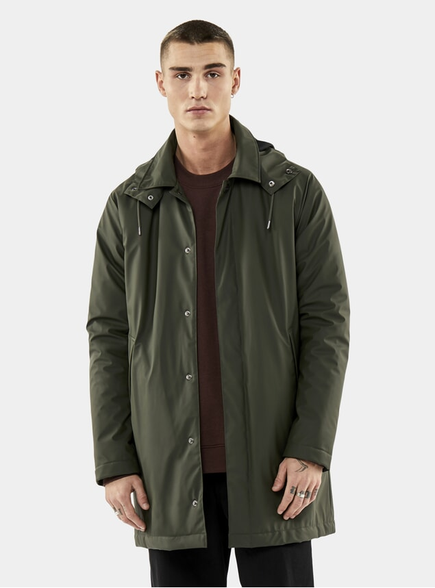 Green Mac Coat