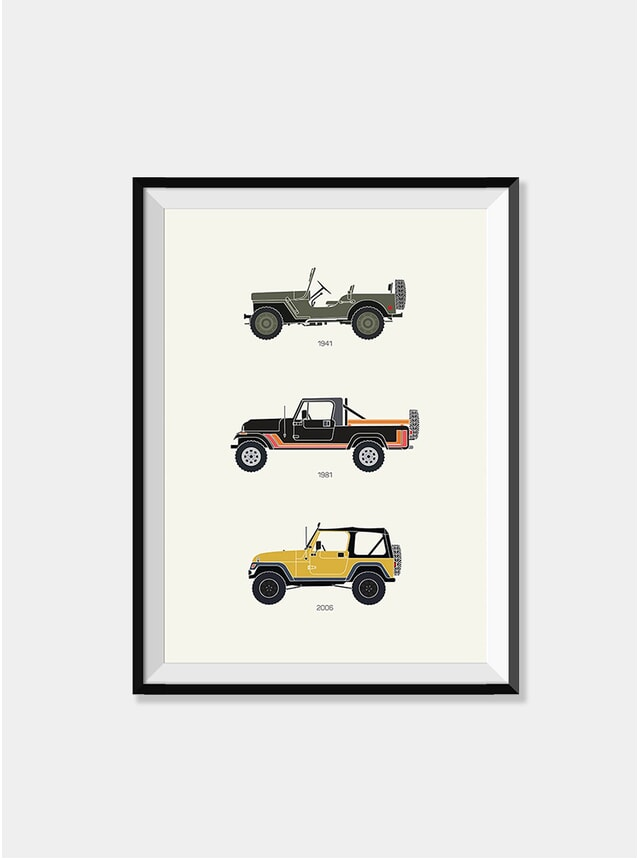 The Grandfather of 4 x 4 -  Jeep Print
