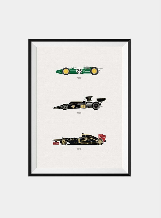 The Iconic Lotus Car Print
