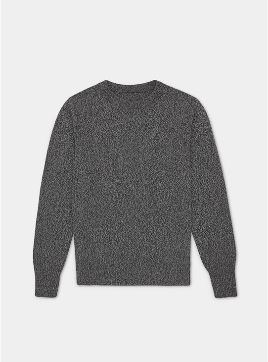 Charcoal Recycled Cashmere Sweater