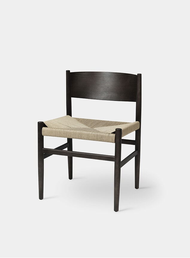 Sirka Grey Beech Paper Cord Nestor Chair