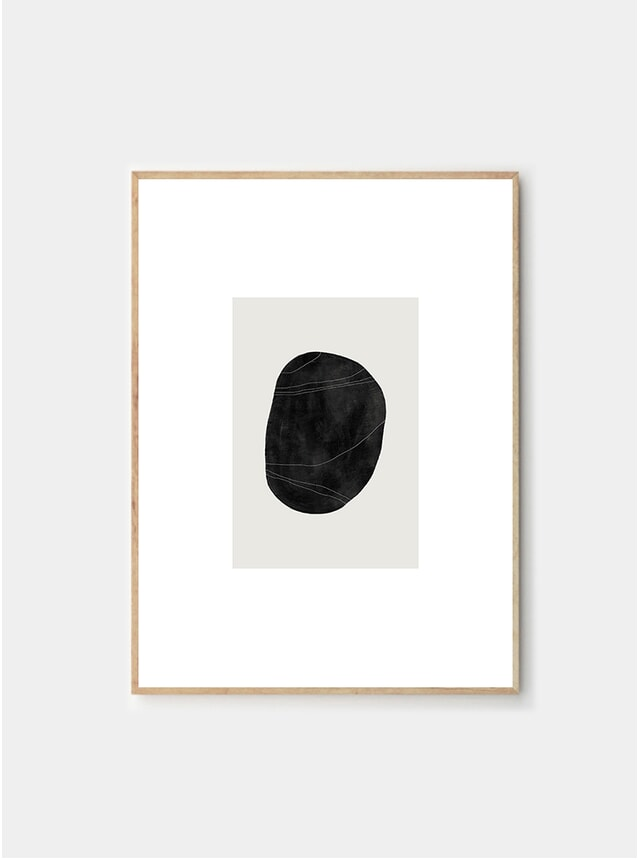 Pebble 05 Print by Studio Paradissi