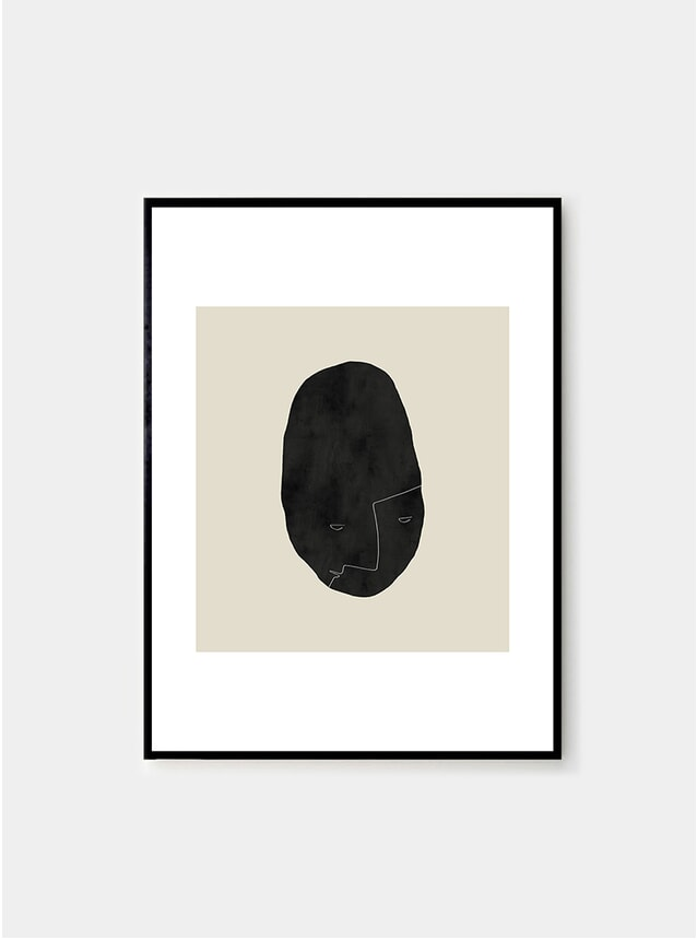 Pebbleface 04 Print  by Studio Paradissi