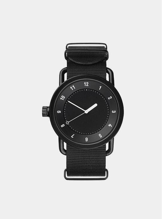 Black / Black Nylon No.1 40mm Watch