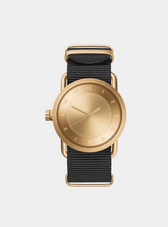 Gold / Black Nylon No.1 36mm Watch