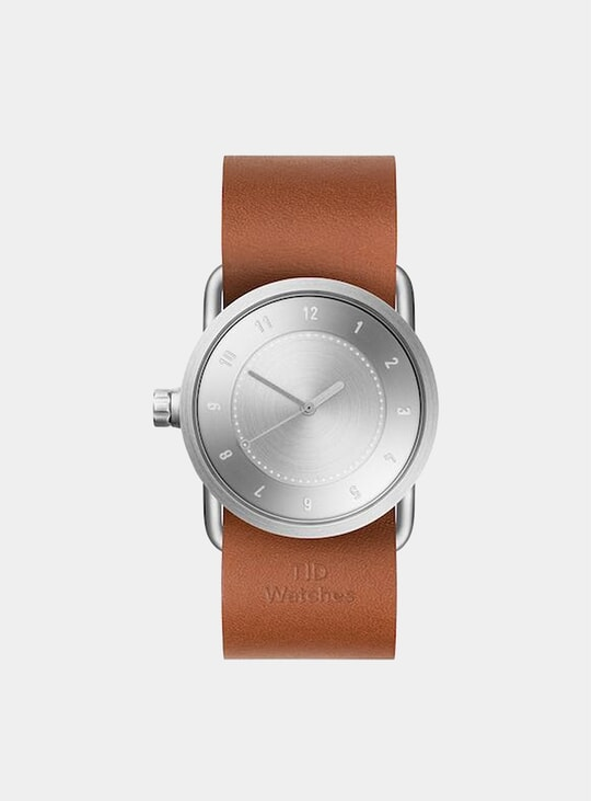 Steel / Tan Leather No.1 33m Watch
