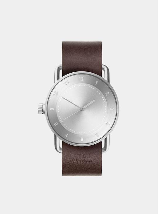 Steel / Walnut No.2 40mm Watch