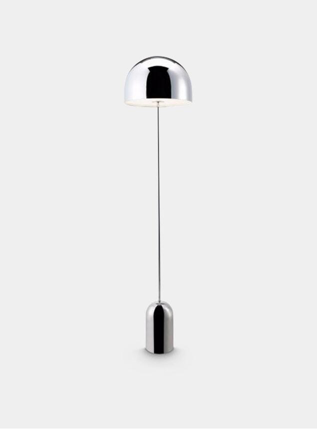 Chrome Bell Floor Lamp