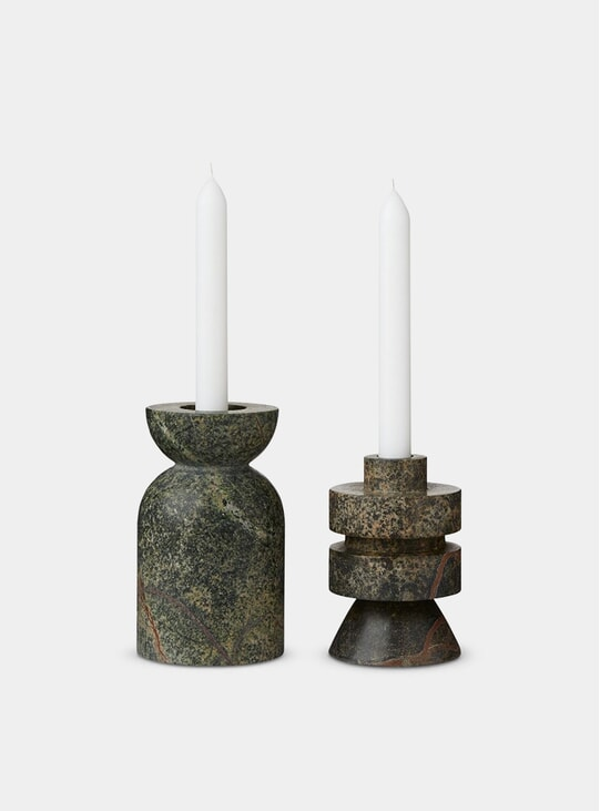 Rock Medium Candle Holder