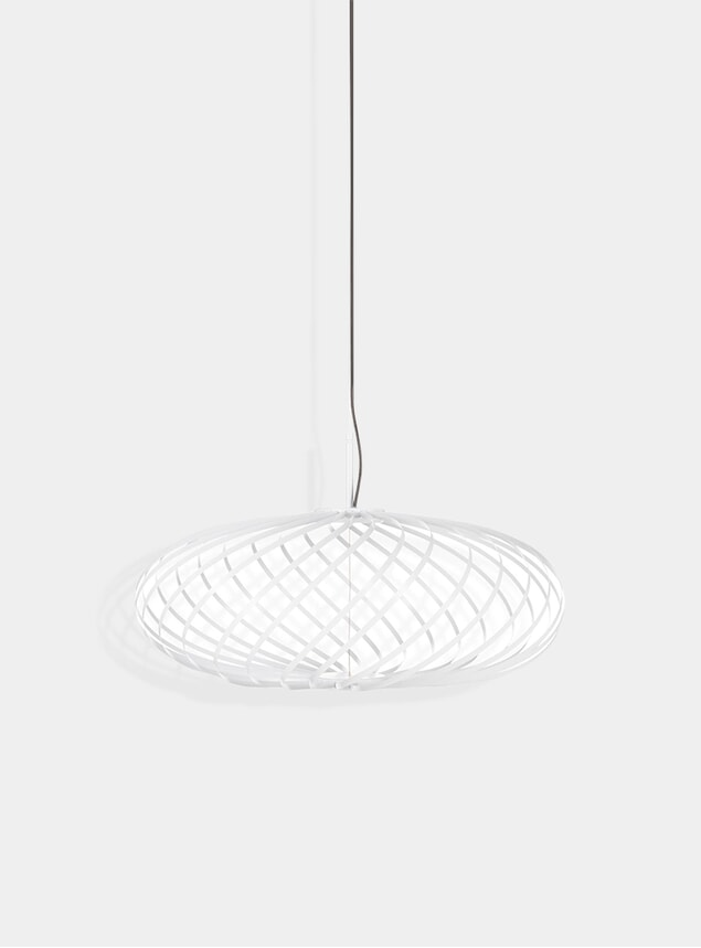 White Small Spring Pendant Lamp